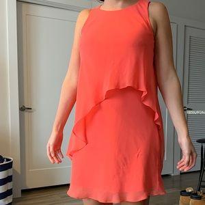 Coral Ralph Lauren high low dress